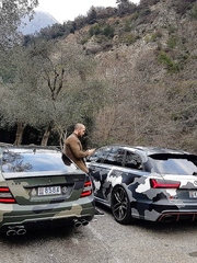 Audi RS6 or C63.