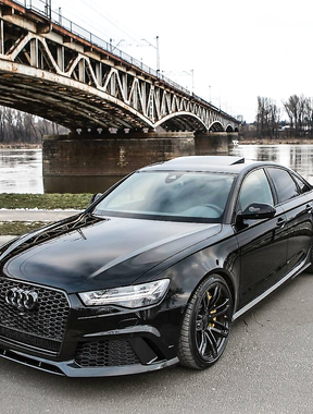 Black Beauty RS6.