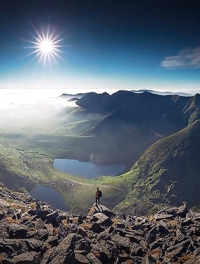 Unbelievable panorama of Carrauntoohil.