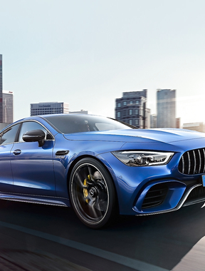 The new Mercedes-AMG GT 4-Door Couple.