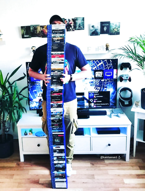 How tall are you? @kuestennerd is 130 PS4 games.