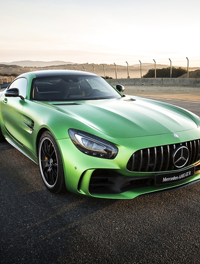 Always impressive MB AMG GT R.