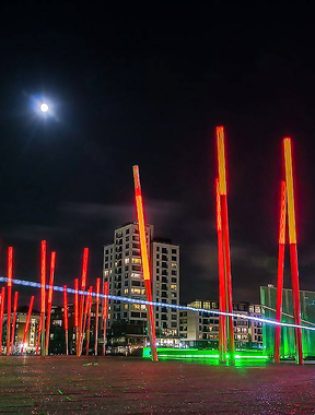 Grand Canal Dock.