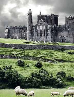 Rock of Cashel in Tipperary.