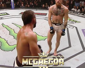 He does rock the octagon! Mad respect McGregor