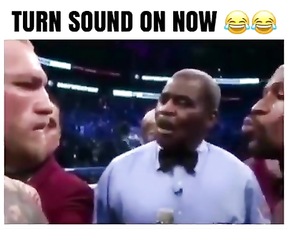 Boxing fight Mcgregor vs Mayweather funny video.