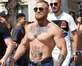 Conor McGregor Ready for Heavyweight Division (Prank).