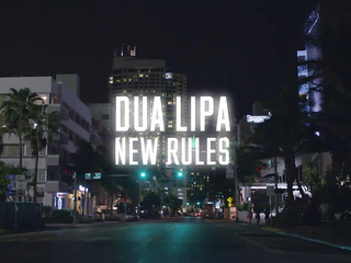 Dua Lipa - New Rules (Official Music Video)
