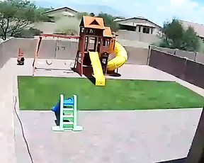 Someone got themselves new trampoline.