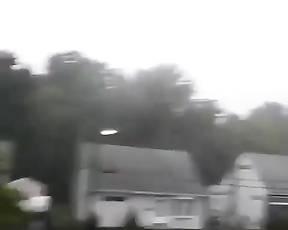 The power of nature! Lightning strikes spotted.