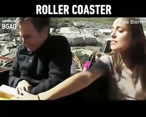 Omg the end. Roller-coaster ruins relationships. Lol