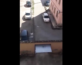 How hard can be to get out of a parking space lot?