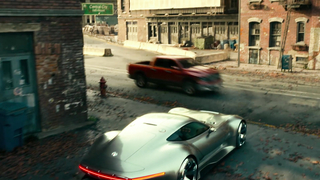 Justice League: Making-of – with the E-Class Cabriolet & Vision Gran Turismo
