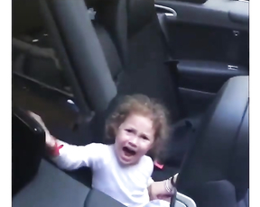 She'll grow up hating convertibles lol