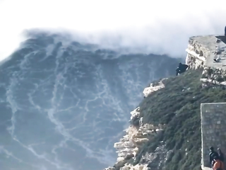 Power of water and wind.
