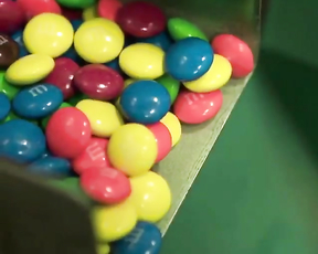 Here's how M&M are made.