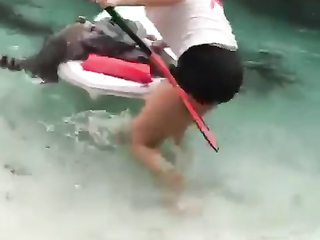He wanted a ride with her.