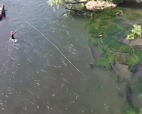 Nice fly fishing.