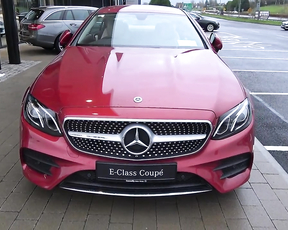 MERCEDES-BENZ E-Class Coupe AMG E-220D for sale Ireland.