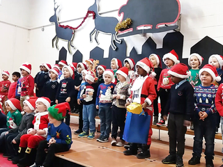 Cristmas Party Blanchardstown Vilage Infance Junior School Alex-P.
