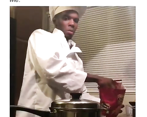 Me when I cooking. Everything gets in fire.  lol