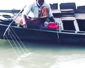 How he catching fish and releasing it?!