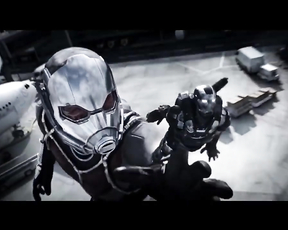 Ant Man and the Wasp - Official Movie Trailer (2018).