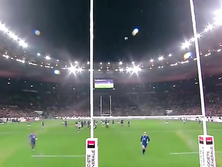 Ireland vs France 13-15. Funny video.
