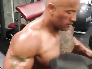 Beast Mode!  Dwayne Johnson.