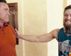 Arnold Schwarzenegger Meets Conor McGregor For The First Time
