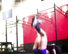 NEW GYM CRAZY CROSSFIT BARBELL FAILS.