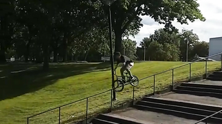 Double peg fail BMX