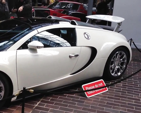 The Buggati Veyron Super Sport.