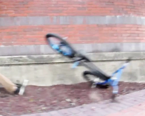 BMX Wall Slide Win and Fail.