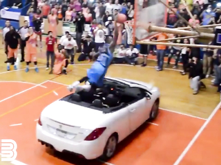 How to NOT Dunk over a CAR!