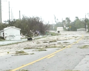 How badly did Irma hit the Florida Keys?