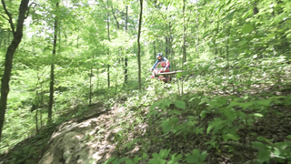 How to Ride off Downhill Drops