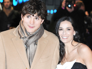 Ashton Kutcher Shares How He Moved...