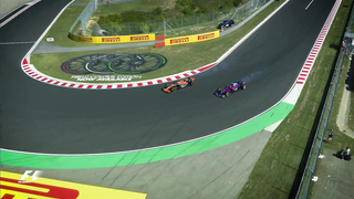 Alonso And Sainz In Epic Battle.