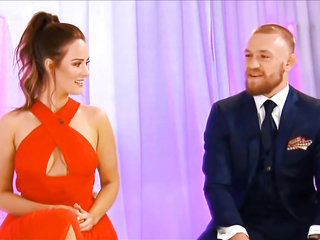 Conor McGregor and his Girlfriend Dee Devlin at VIP Style Awards 2016
