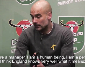 Pep Guardiola explains why he will accept the repercussions