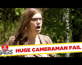 EPIC FAIL: Cameraman Loses Everything.