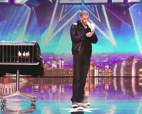 The world's best illusionist on the talent show
