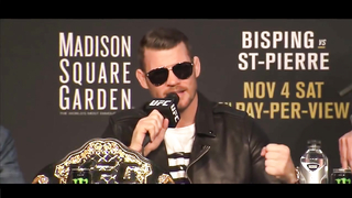 Bisping, Cody & Joanna EAT THEIR OWN WORDS