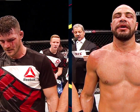 Fight Night Glasgow: Michael Bisping and Thales Leites Octagon Interview