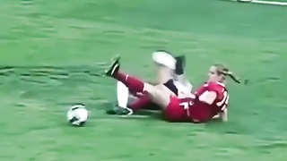 Funny women's football.