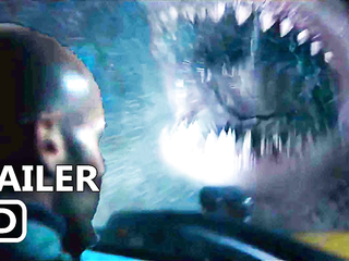 THE MEG Official Trailer (2018) Jason Statham, Giant Shark Movie HD
