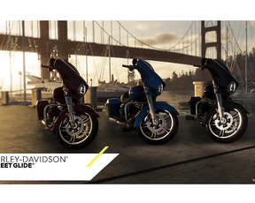 The Crew 2 - Harley Davidson Street Glide: Motorsports Vehicle Series #4