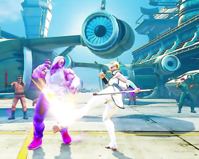 Street Fighter V: Arcade Edition – Falke Gameplay Trailer | PS4