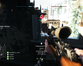 Sniping in Battlefiel 5 Beta